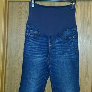 Old Navy boot cut maternity jeans
